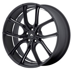 Adventus Wheels AVX-6 - Matte Black Milled