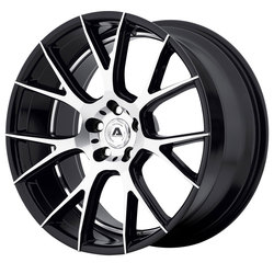 Adventus Wheels AVX-7 - Gloss Black Machined