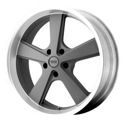 American Racing Wheels American Racing Wheels VN701 Nova - Mag Gray Machined Lip