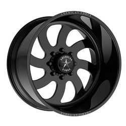 American Force Wheels 76 Blade (Left) - Gloss Black Rim - 22x16