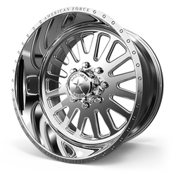 American Force Wheels F20 Atom - Polished Rim - 22x11