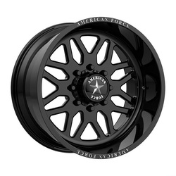 American Force Wheels B02 Trax - Gloss Black Rim - 22x16
