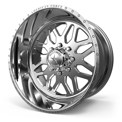 American Force Wheels B02 Trax SS - Polished Rim - 22x11