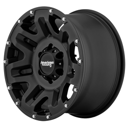 American Racing Wheels AR200 Yukon - Cast Iron Black Rim