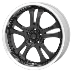 American Racing Wheels AR683 Casino - Gloss Black With Diamond Cut Lip