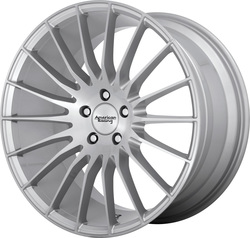 American Racing Wheels AR934 Fastlane - Brushed Silver Rim