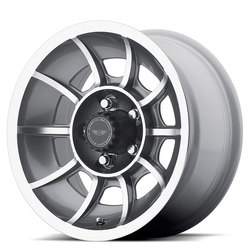 American Racing Wheels VN47 Vector - Anthracite Machined