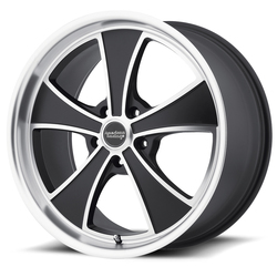 American Racing Wheels American Racing Wheels VN807 Mach 5 - Satin Black Machined