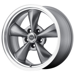 American Racing Wheels AR105 TorqThrust M - Anthracite with Machined Lip