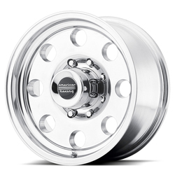 American Racing Wheels AR172 Baja - Polished Rim - 16x10