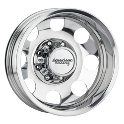 American Racing Wheels AR204 Baja Dually (Rear) - Polished Rim