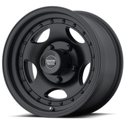 American Racing Wheels AR23 - Satin Black with Clearcoat Rim