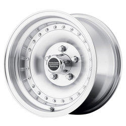 American Racing Wheels AR61 Outlaw I - Machined with Clearcoat Rim - 14x7