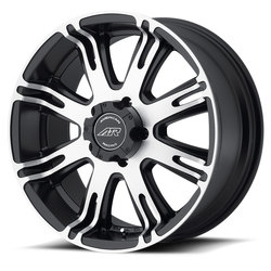 American Racing Wheels AR708 - Matte Black Machined Rim
