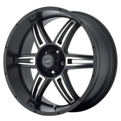 American Racing Wheels American Racing Wheels AR890 - Satin Black Machined
