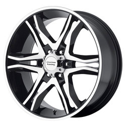 American Racing Wheels American Racing Wheels AR893 Mainline - Gloss Black Machined