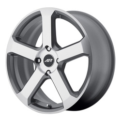 American Racing Wheels AR896 - Dark Silver W/ Machined Face Rim