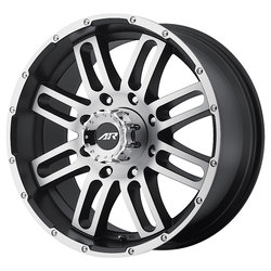 American Racing Wheels AR901 - Satin Black Machined