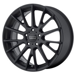 American Racing Wheels AR904 - Satin Black - 19x8