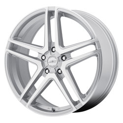 American Racing Wheels AR907 - Bright Silver / Machined Face