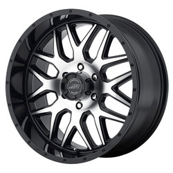 American Racing Wheels AR910 - Gloss Black / Machined Face Rim - 17x8.5