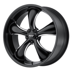 American Racing Wheels AR912 TT60 - Satin Black Milled - 22x11