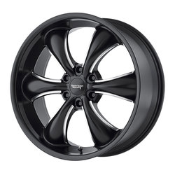 American Racing Wheels AR914 TT60 Truck - Satin Black Milled Rim