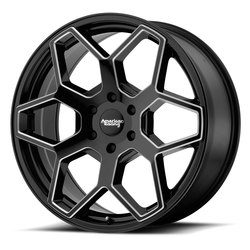 American Racing Wheels AR916 - Gloss Black Milled Rim