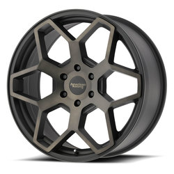 American Racing Wheels AR916 - Satin Black w/Dark Tint Clear Coat Rim