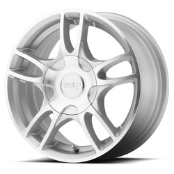 American Racing Wheels AR919 Estrella 2 - Silver Machined - 14x6