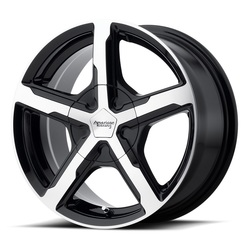 American Racing Wheels AR921 Trigger - Gloss Black Machined