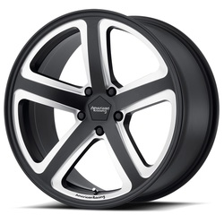 American Racing Wheels AR922 Hot Lap - Satin Black Milled Rim