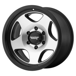 American Racing Wheels AR923 Mod 12 - Satin Black Machined