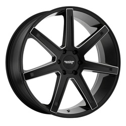 American Racing Wheels AR938 Revert - Satin Black Milled Rim