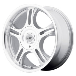American Racing Wheels AR95T Estrella - Machined w/Clearcoat - 17x7.5
