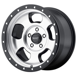 American Racing Wheels AR969 - Black Mach