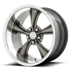 American Racing Wheels VN338 Torq Thrust Boss - Graphite with Diamond Cut Lip Rim