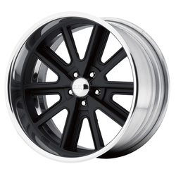American Racing Wheels VN407 - Black Center Polished Barrel Rim - 17x10