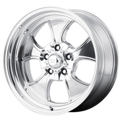 American Racing Wheels VN450 Hopster - 2- Piece Polished Rim - 18x7