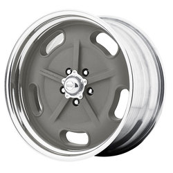 American Racing Wheels VN470 SaltFlat - Mag Gray/Polished Ctr & Barrel