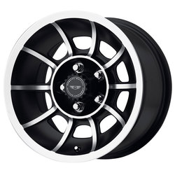 American Racing Wheels VN47 Vector - Satin Black Machined Rim