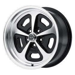 American Racing Wheels VN501 500 MONO CAST - Gloss Black Machined Rim - 17x7