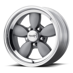 American Racing Wheels VN504 - Mag Gray Center with Mirror Lip