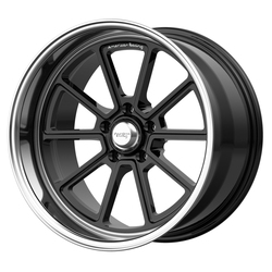 American Racing Wheels VN510 Draft - Gloss Black Diamond Cut Lip