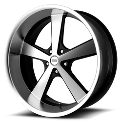 American Racing Wheels VN701 Nova - Gloss Black Machined Rim - 22x11
