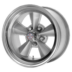 American Racing Wheels VNT70R - Gunmetal W/ Polished Lip