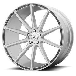 Asanti Wheels ABL-20 Aries - Brushed Silver Rim - 22x9