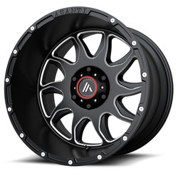 Asanti Wheels AB810 Ballistic - Gloss Black Milled