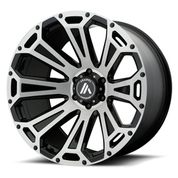 Asanti Wheels AB813 Cleaver - Black / Brushed