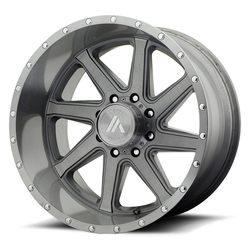 Asanti Wheels AB814 Windmill - Titanium-Brushed